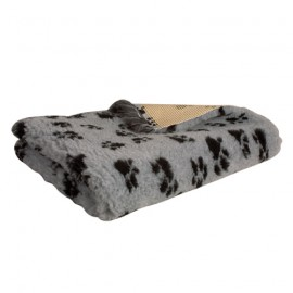Technivet veterinary beddings - Grey with deco paws