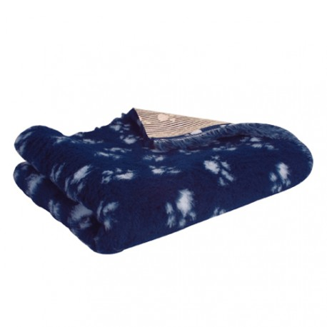 Technivet veterinary bedding - Blue with deco paws
