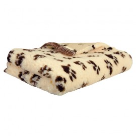 Technivet veterinary bedding - Beige with deco paws