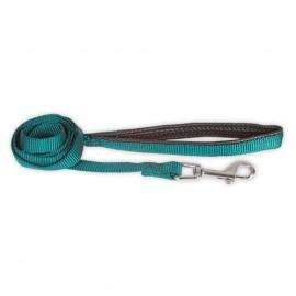 Doogy basic nylon lead with comfort handle - red