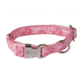 Envy Flora dog collars - Pink