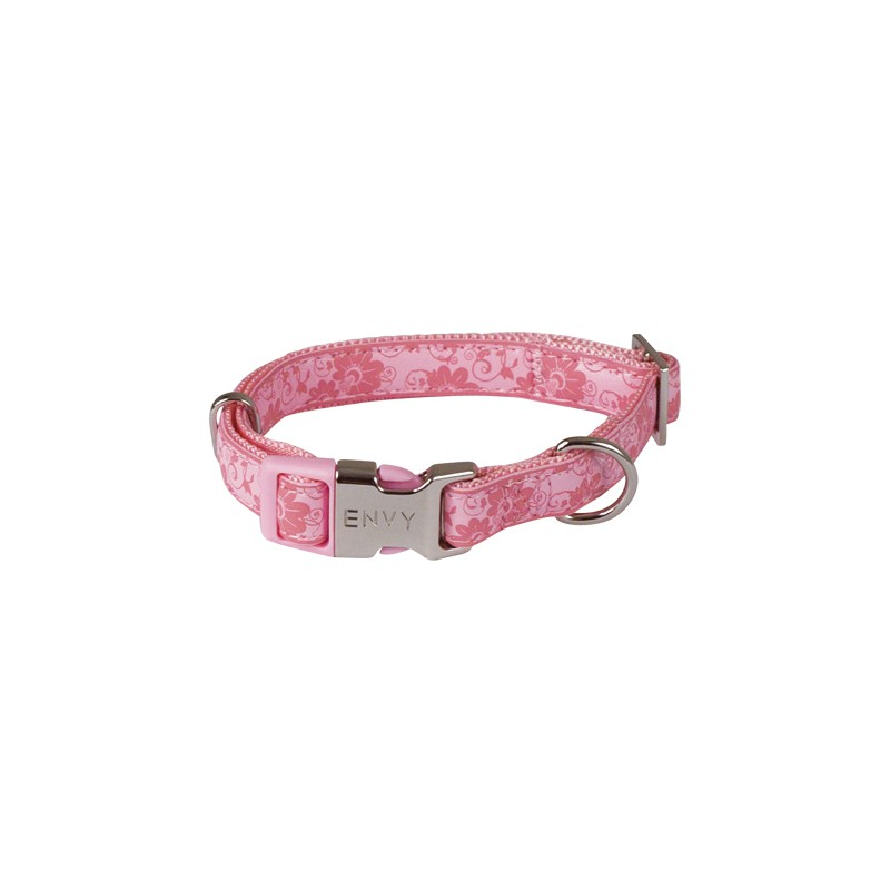 Envy Flora Dog Collars Pink Chadog Corporate