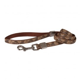 Envy Flora dog lead - Brown