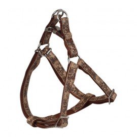 Envy Flora dog harness - Brown