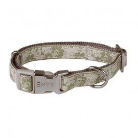 Envy Flora dog collars - Beige