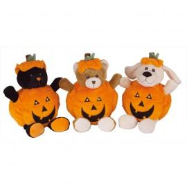 Halloween plush cuddly dog toy