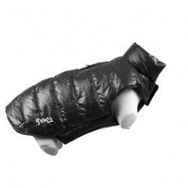 Doogy Fun Fashion down jacket - Black