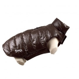 Doogy Fun Fashion down jacket - Brown