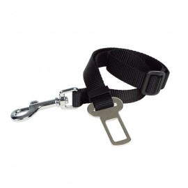 Security leash car belt