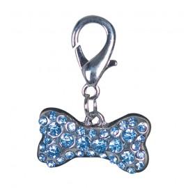 Doogy pendant - Clear saphir puppy