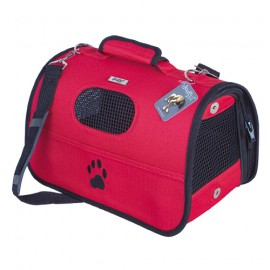 Doogy red padded bag