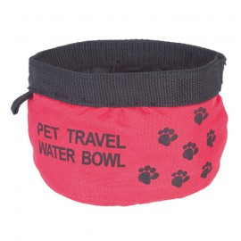 Doogy travel soft bowl - Red