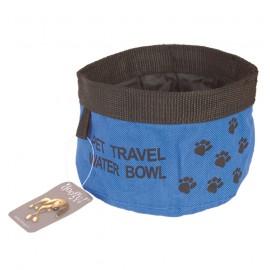 Doogy travel soft bowl - Blue