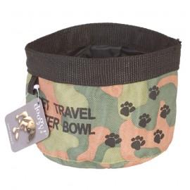 Doogy travel soft bowl - Green