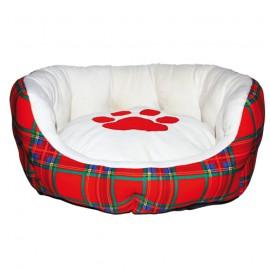 Doogy Scottish bedding - Red