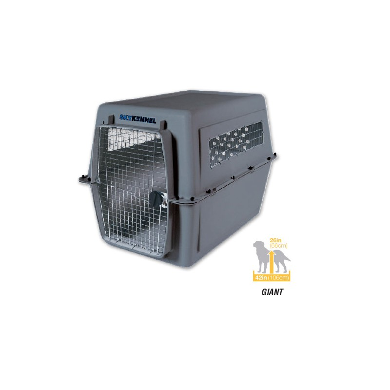 Red Petmate Dog Kennel