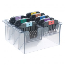 Wahl box of 8 blade combs
