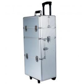 Removable aluminium case