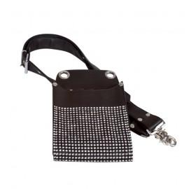 Strass tool belt purse