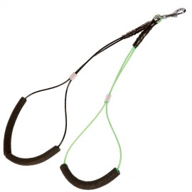 Double adjustable grooming strap