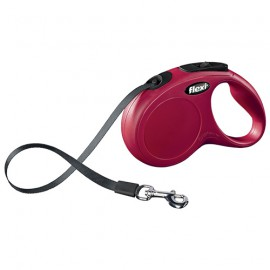 Flexi New Classic tape lead - red