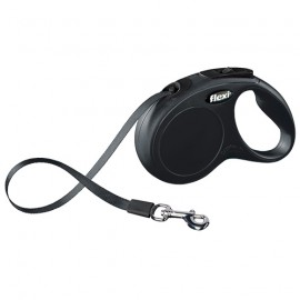 Flexi New Classic tape lead - black