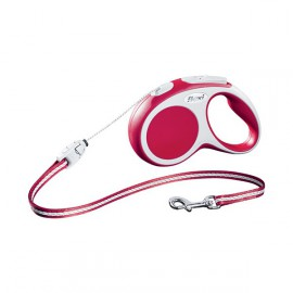 Flexi Vario System long cord lead - Red