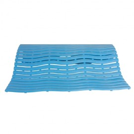 Soft step floor mat for grooming bathtub