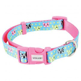 Candy adjustable collar - blue