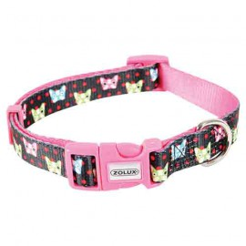 Candy adjustable collar - black