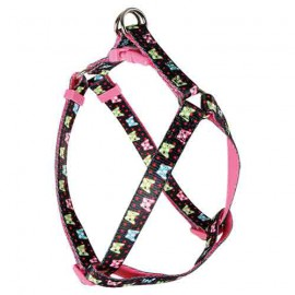 Candy adjustable harness - black