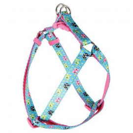 Candy adjustable harness - blue