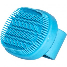 Rubber brush - short pins
