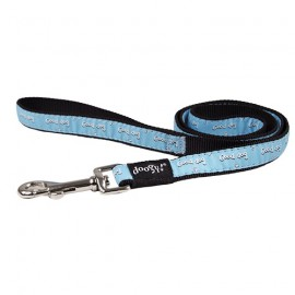 "Doogy fantaisie lead - ""good dog"" blue"