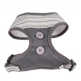 Doogy fantaisie tee-shirt harness - grey