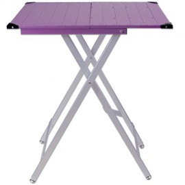 Ultra-light show table Lilac