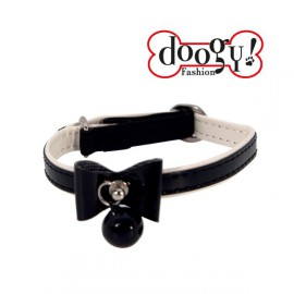 Doogy cat collar - Black