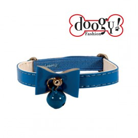 Doogy cat collar - Blue