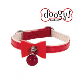 Doogy cat collar - Red