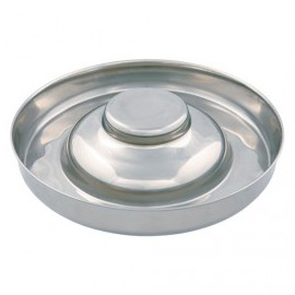 Puppies stainless steel bowl