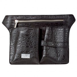 Adjustable holster belt for groomer