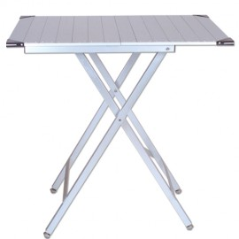 Ultra-light show table Silver