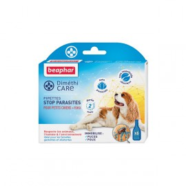 Dimethicare, pipettes stop parasite dog