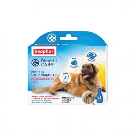 Dimethicare, pipettes stop parasite dog 15