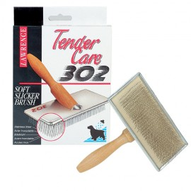 Lawrence hard pins slicker brush medium