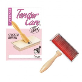 Lawrence Tender Care medium slicker brush for cats