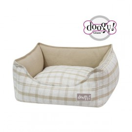 Doogy Padded sofa Quadry Beige