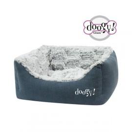 Doogy Padded sofa Whooly Blue