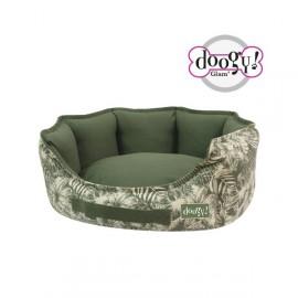 Padded Basket Jungle Green Doogy