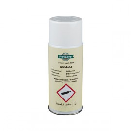 Odourless refill for repellent spray cat